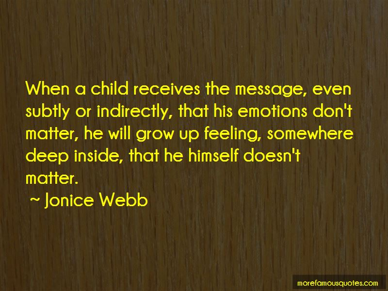 Jonice Webb Quotes Pictures 2