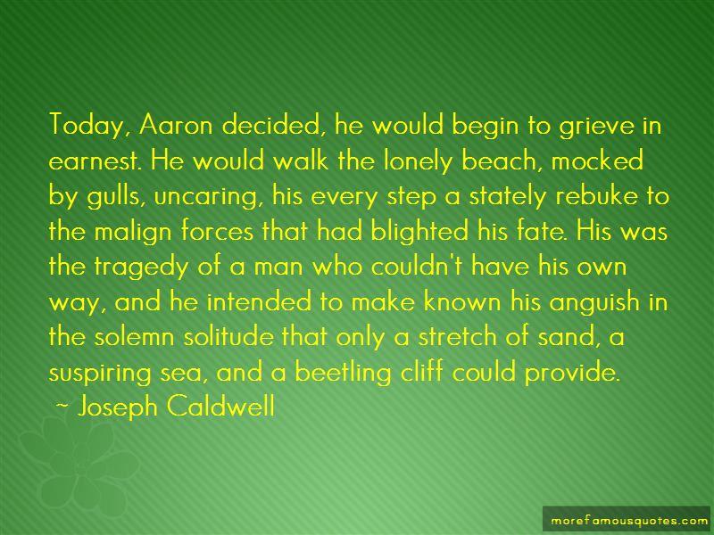 Joseph Caldwell Quotes