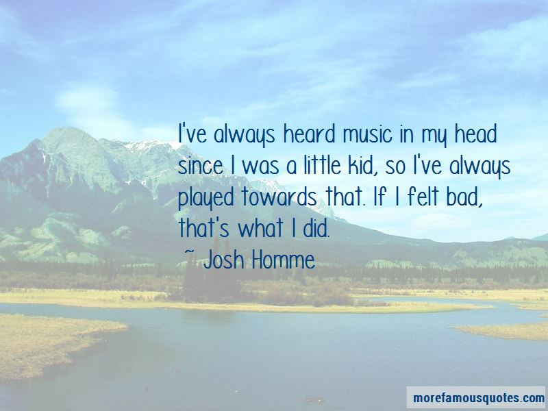 Josh Homme Quotes Pictures 2