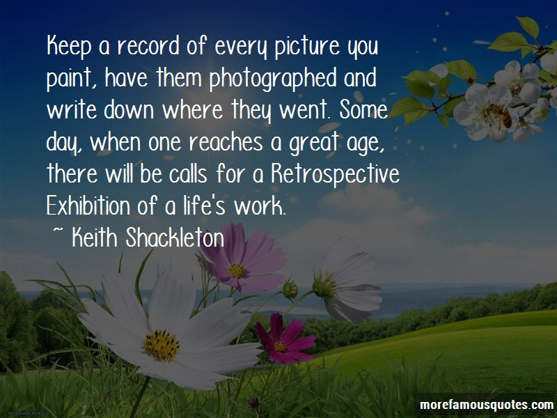 Keith Shackleton Quotes Pictures 2