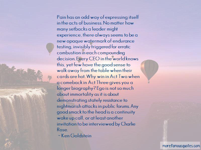 Ken Goldstein Quotes Pictures 2