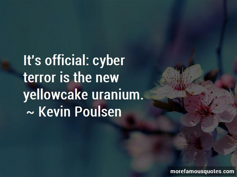 Kevin Poulsen Quotes