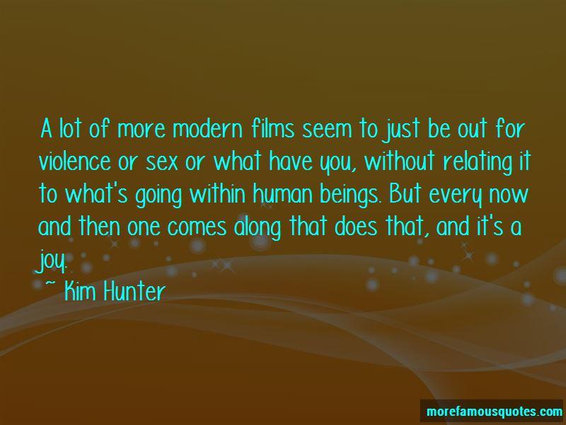 Kim Hunter Quotes