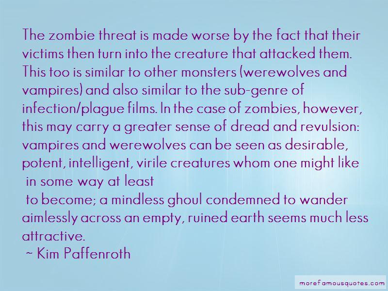 Kim Paffenroth Quotes