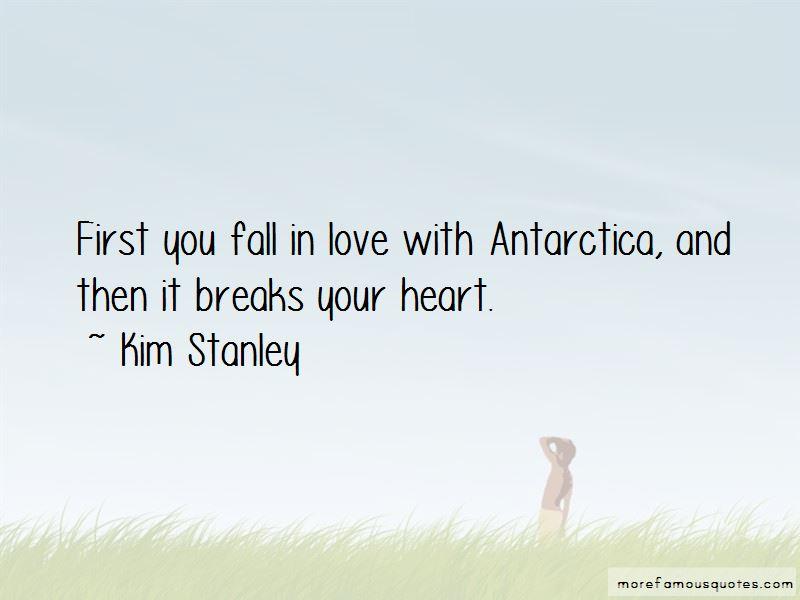 Kim Stanley Quotes
