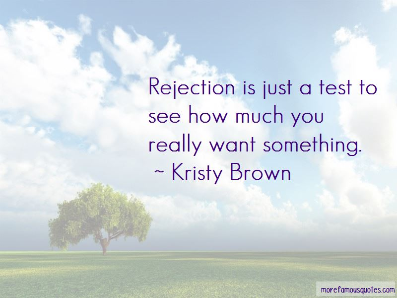 Kristy Brown Quotes Pictures 2