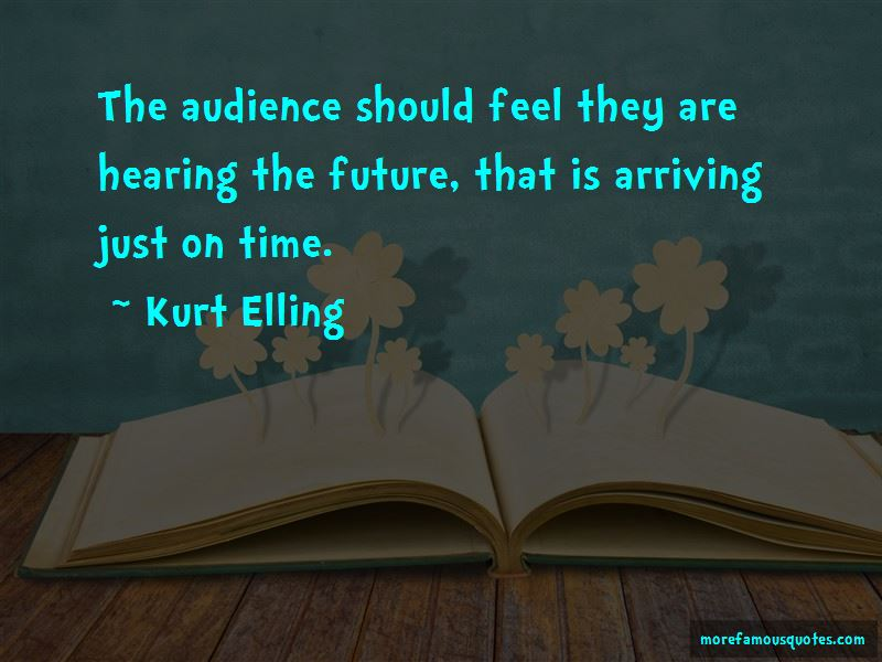 Kurt Elling Quotes