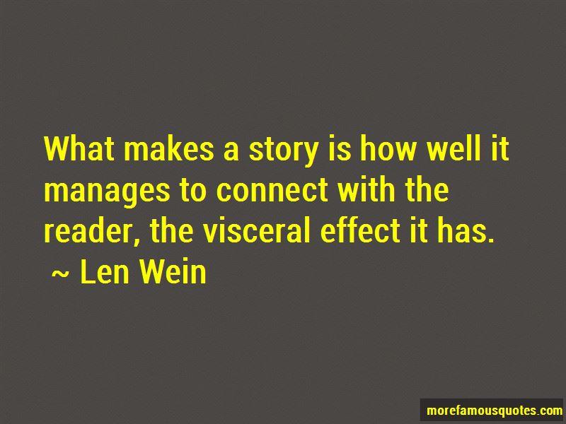 Len Wein Quotes