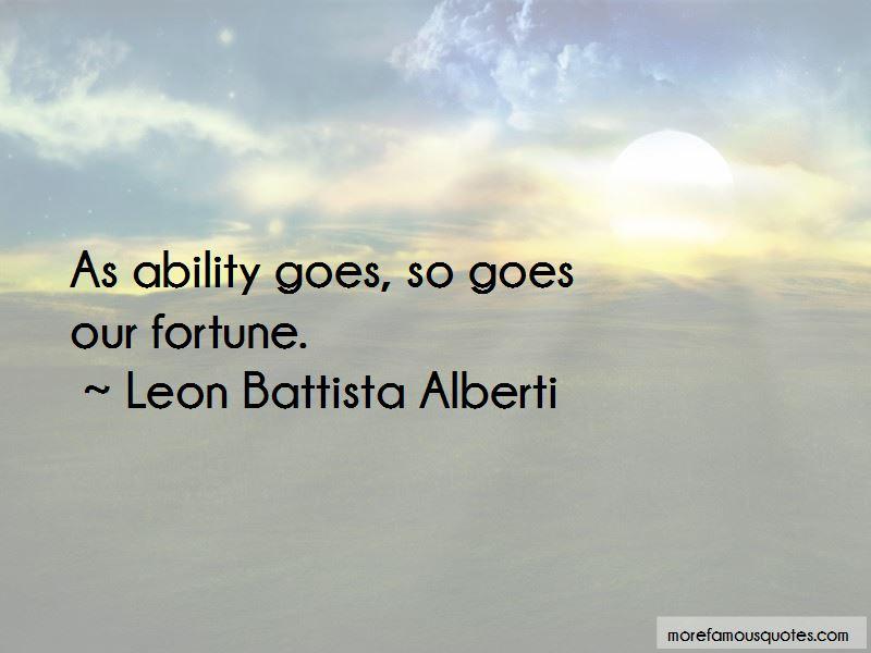 Leon Battista Alberti Quotes Pictures 2