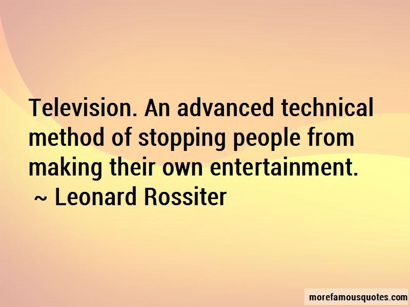Leonard Rossiter Quotes Pictures 2