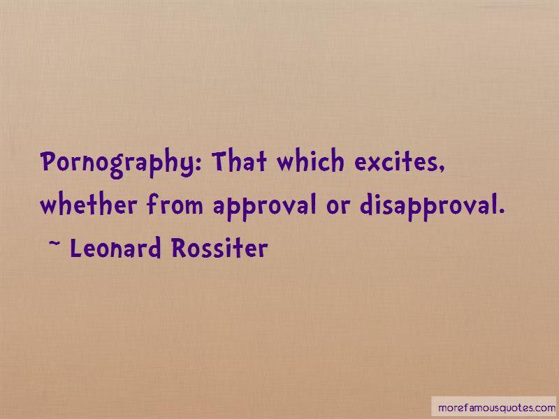 Leonard Rossiter Quotes