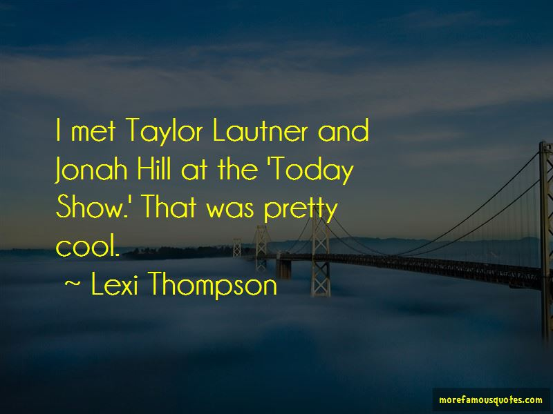 Lexi Thompson Quotes Pictures 3