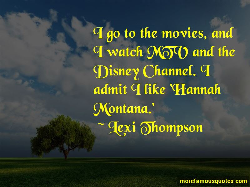 Lexi Thompson Quotes
