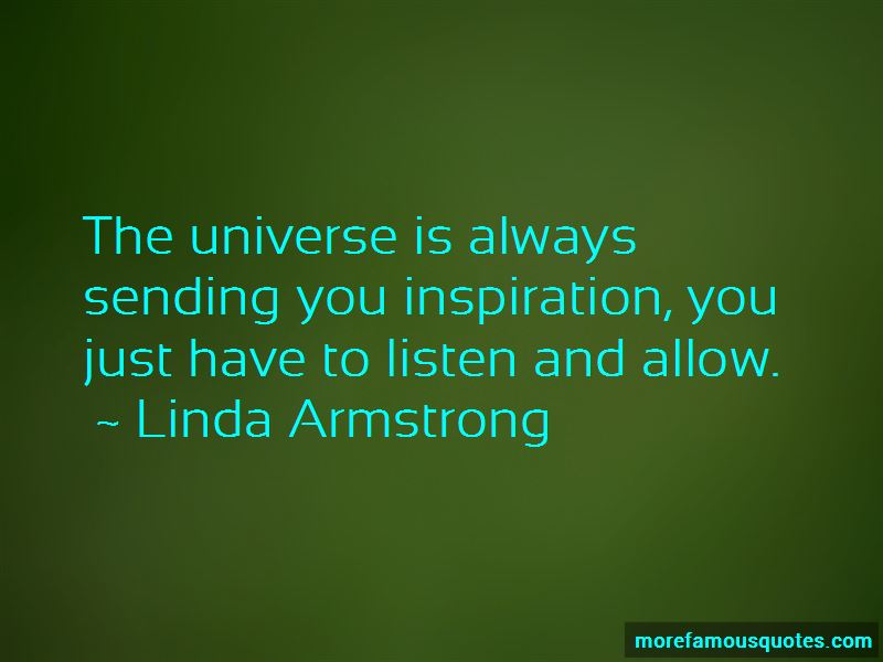 Linda Armstrong Quotes