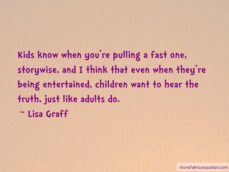Lisa Graff Quotes