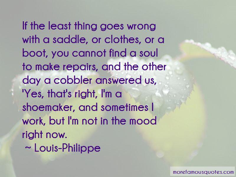 Louis-Philippe Quotes