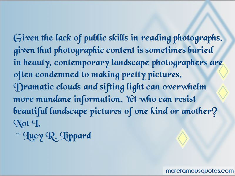 Lucy R. Lippard Quotes Pictures 2