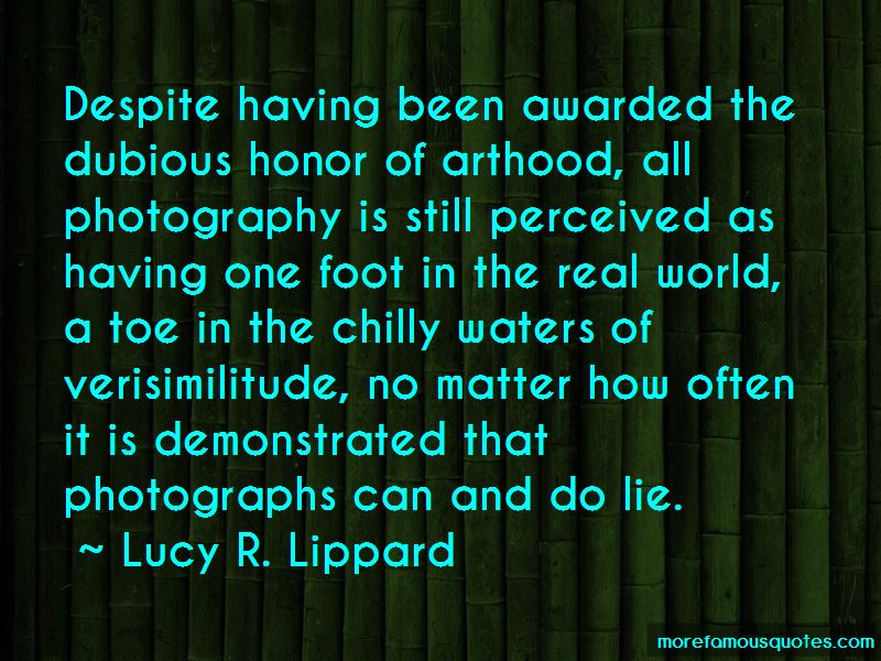 Lucy R. Lippard Quotes Pictures 3