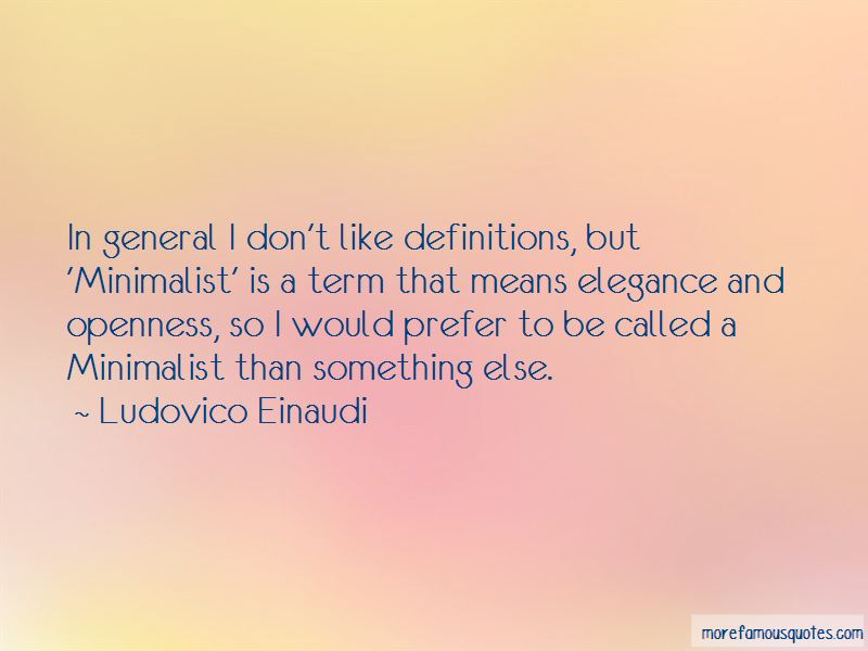 Ludovico Einaudi Quotes