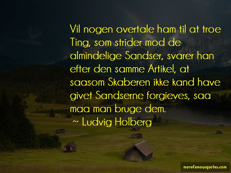 Ludvig Holberg Quotes Pictures 2
