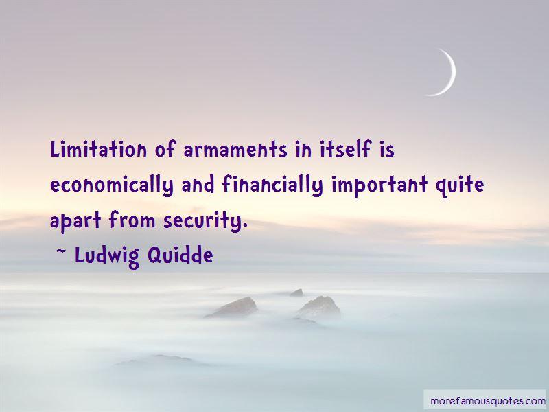 Ludwig Quidde Quotes Pictures 2
