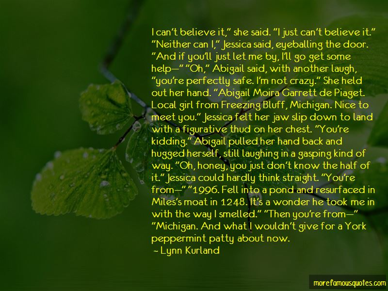 Lynn Kurland Quotes Pictures 2