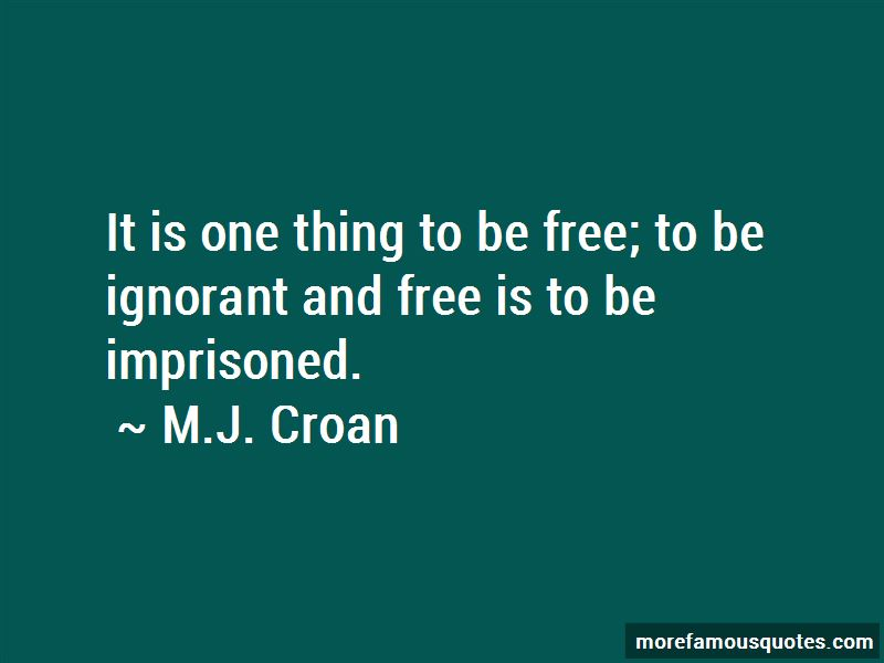 M.J. Croan Quotes Pictures 2