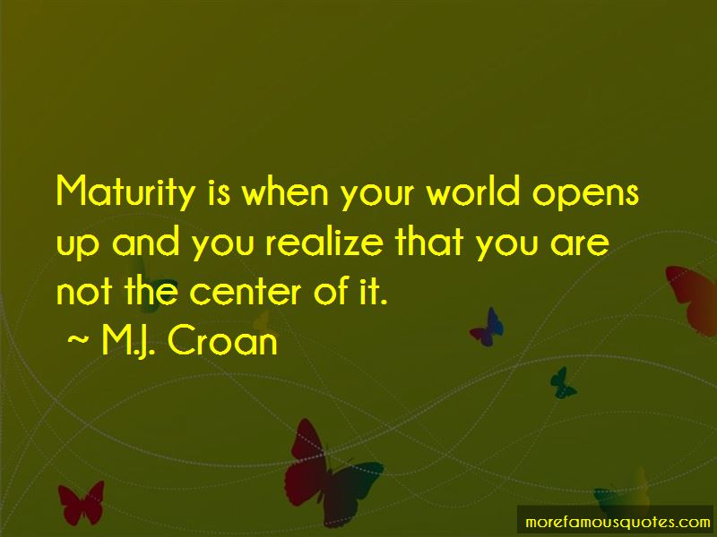 M.J. Croan Quotes Pictures 3