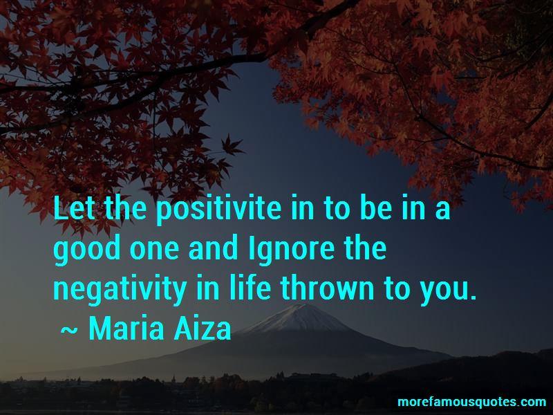 Maria Aiza Quotes