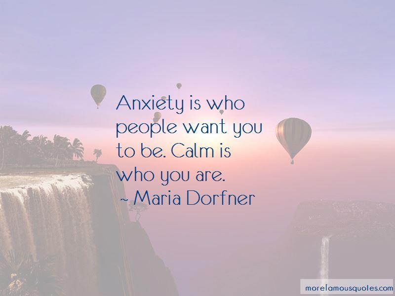 Maria Dorfner Quotes Pictures 2