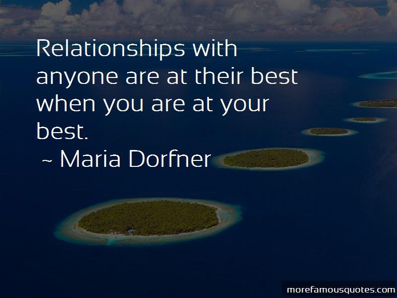 Maria Dorfner Quotes Pictures 3