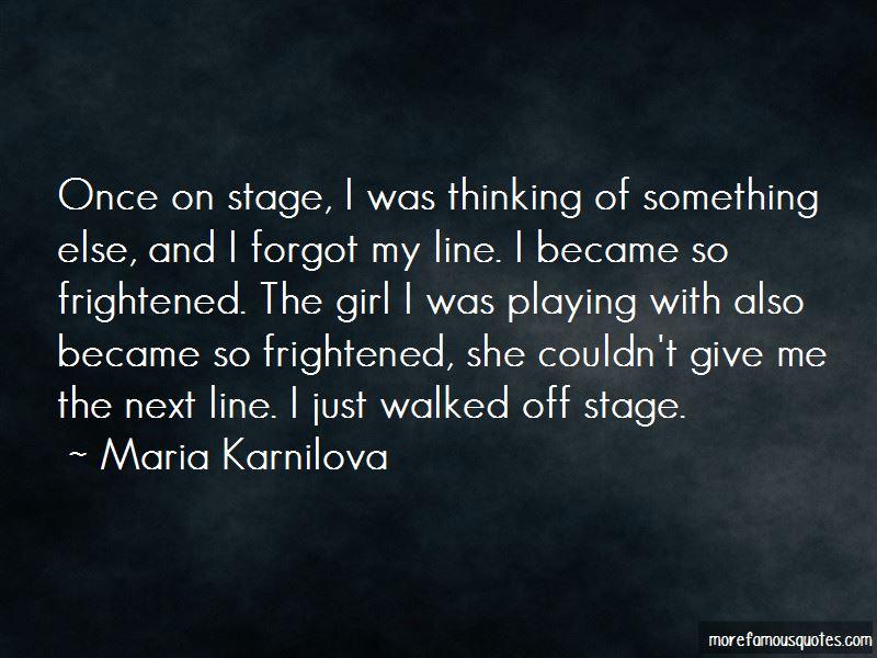 Maria Karnilova Quotes Pictures 2