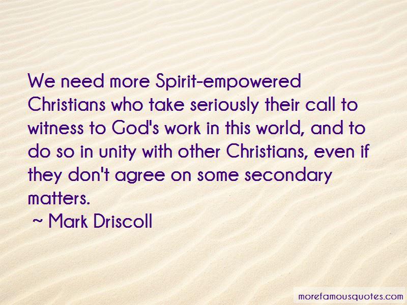 Mark Driscoll Quotes