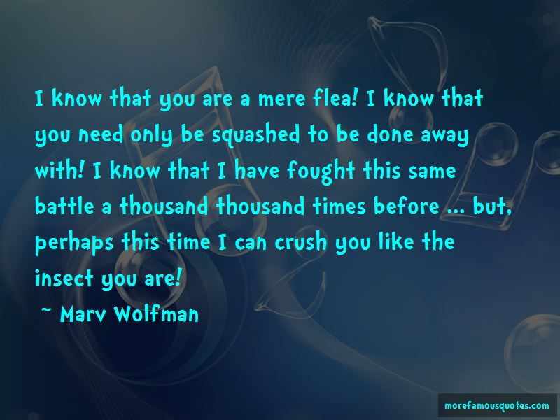 Marv Wolfman Quotes Pictures 2