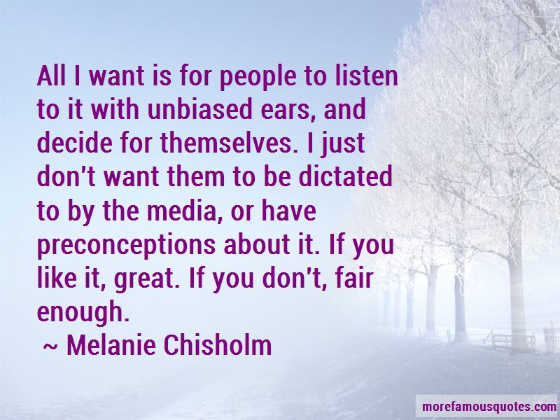 Melanie Chisholm Quotes