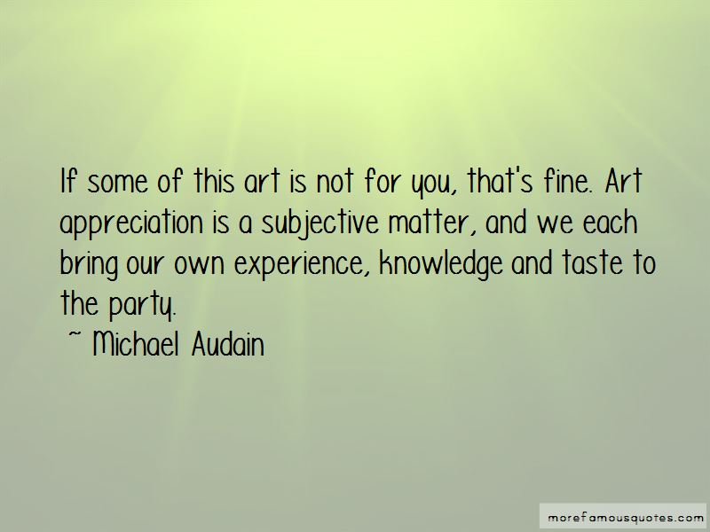 Michael Audain Quotes Pictures 2