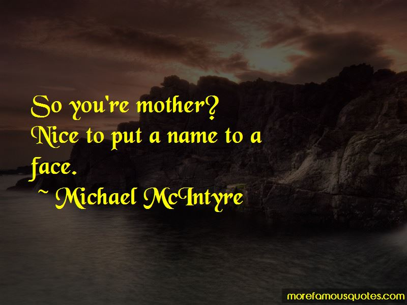 Michael McIntyre Quotes Pictures 4
