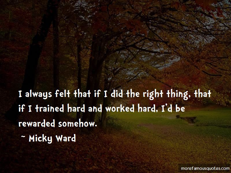 Micky Ward Quotes Pictures 3
