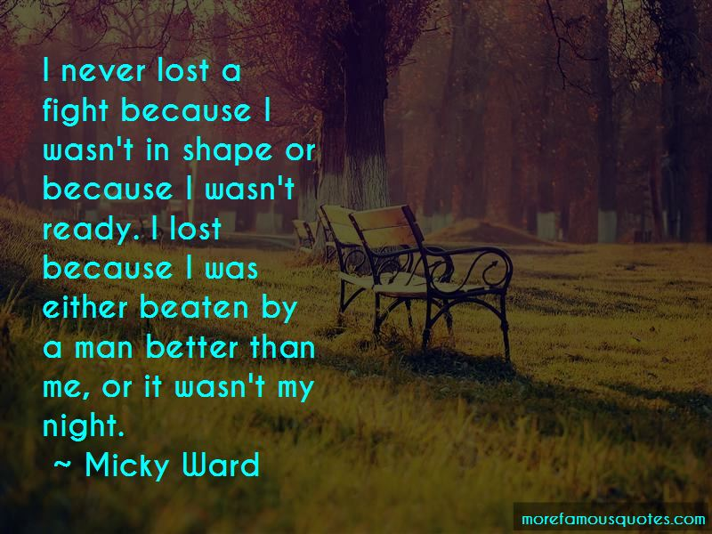 Micky Ward Quotes Pictures 4