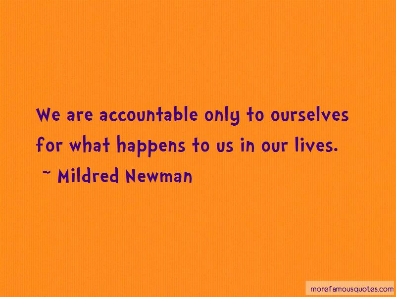 Mildred Newman Quotes Pictures 3