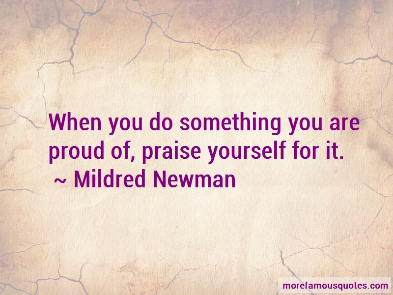 Mildred Newman Quotes