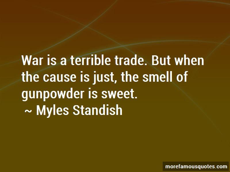Myles Standish Quotes