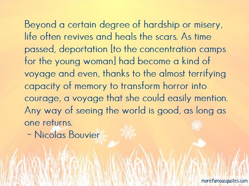 Nicolas Bouvier Quotes Pictures 2