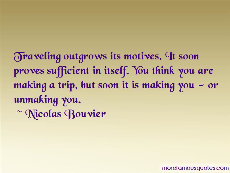 Nicolas Bouvier Quotes Pictures 4