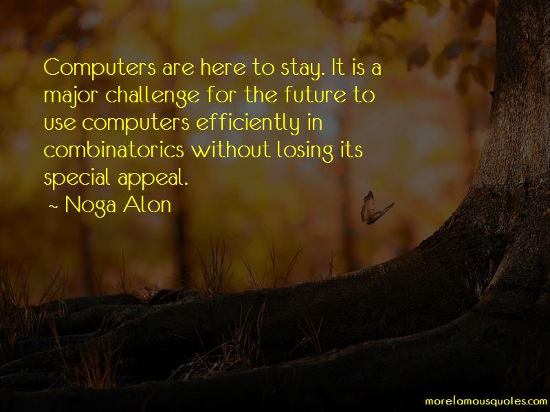 Noga Alon Quotes