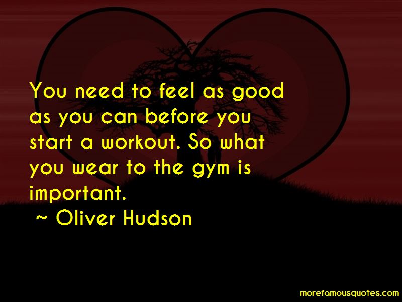Oliver Hudson Quotes Pictures 3