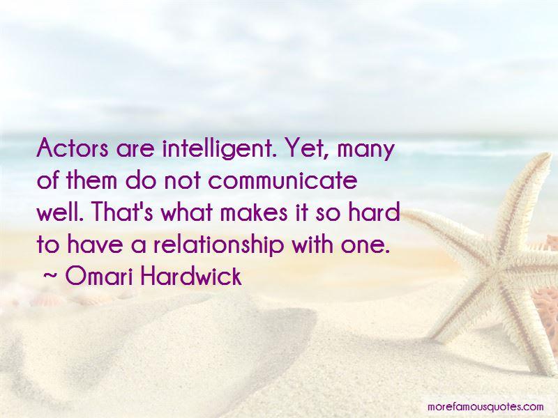 Omari Hardwick Quotes Pictures 3