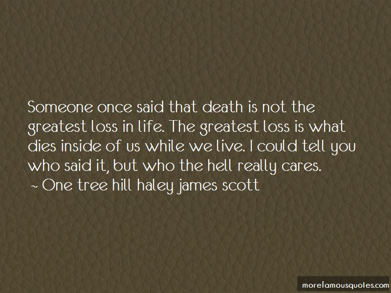 One Tree Hill Haley James Scott quotes: top 1 famous quotes ...