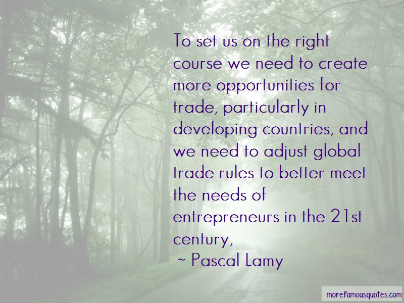 Pascal Lamy Quotes Pictures 2