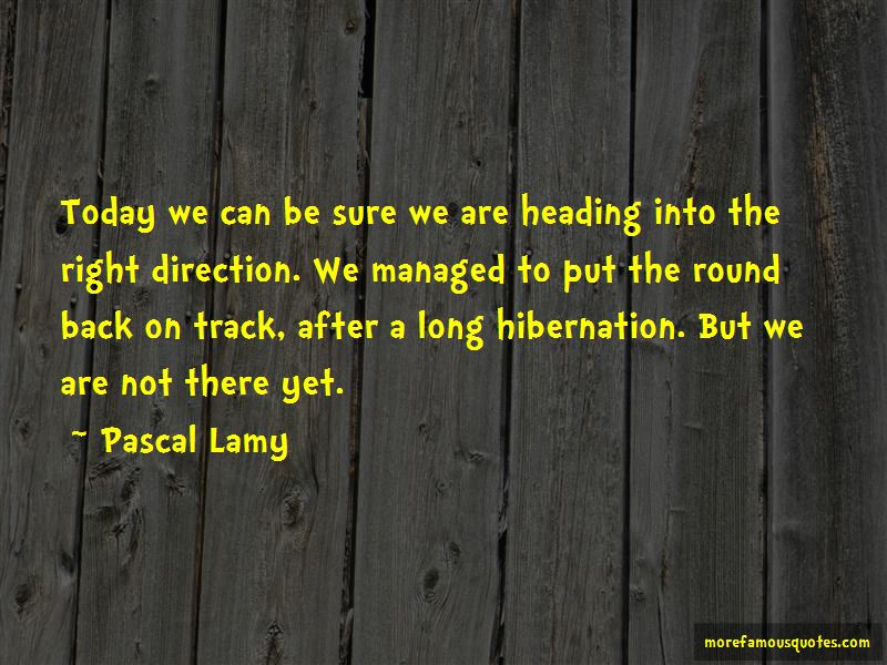 Pascal Lamy Quotes